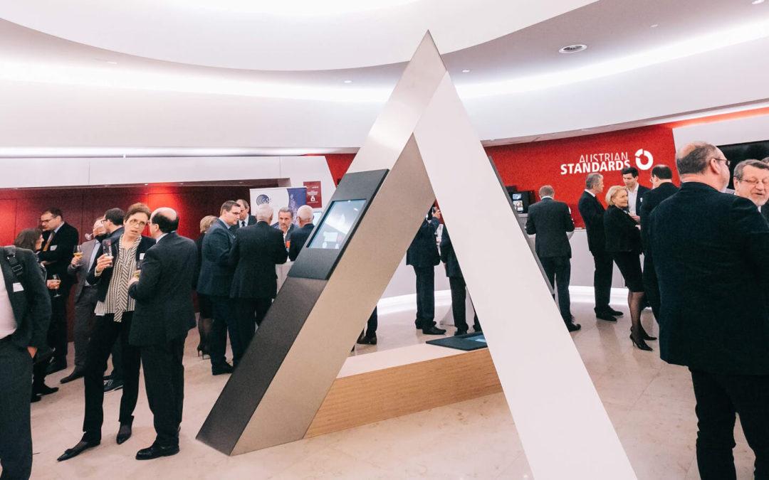 2020 startet Austrian Standards sein 100 Jahre-Jubiläum  mit neuer CI, Marke und mehr…